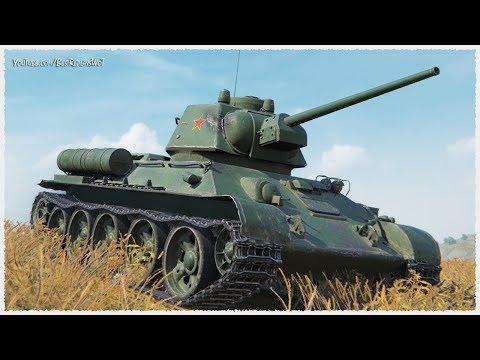 Type T-34 • 4550 DAMAGE on Chinese TIER 5 medium tank • WoT Gameplay