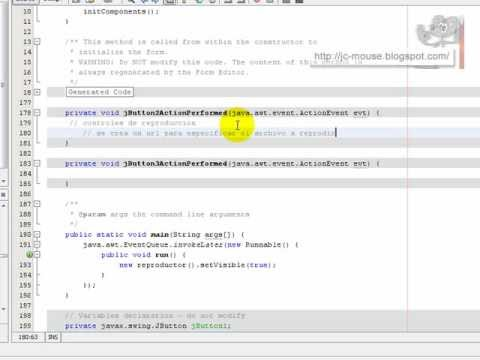 Reproductor de video en Java con JMF: Introducción a la API de JMF