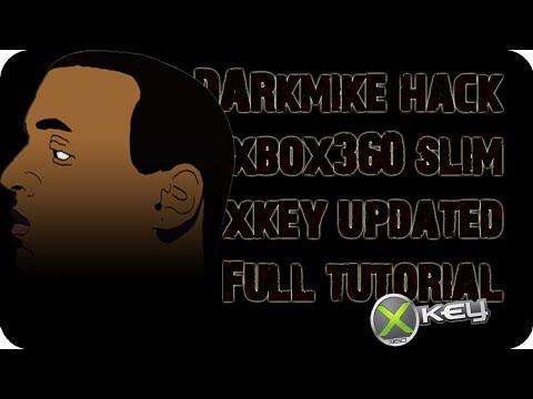 DarkMike Hack Xbox 360 SLIM (Xkey) Updated FULL Tutorial