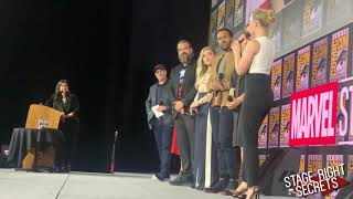 Black Widow Marvel Comic Con Panel 2019