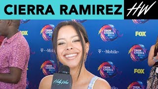 The Fosters' Cierra Ramirez Fangirls Over Aubrey Joseph! | Hollywire