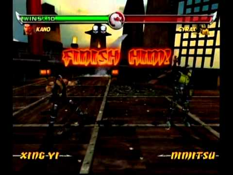 Mortal Kombat: Deadly Alliance - All Fatalities On Cyrax