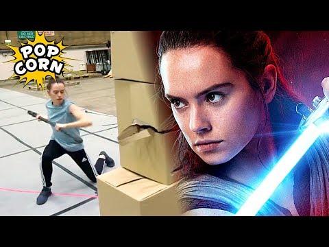 ТРЕНИРОВКА ПОСЛЕДНИХ ДЖЕДАЕВ / Star Wars: The Last Jedi Training