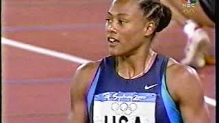 Women's 4x100 Relay Finals - 2000 Sydney Olympics Track & Field