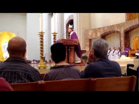 Cardinal DiNardo Homily - Ash Wednesday 2012