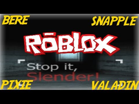 Family Game Nights Plays: Roblox - Stop it Slender (EASTER UPDATE!)