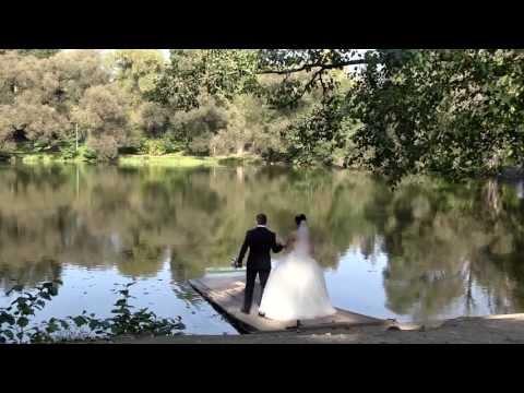 Свадебная прогулка в раменском парке