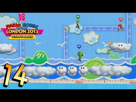 Mario and Sonic at the London 2012 Olympic Games: Part 14 - Dream Long Jump