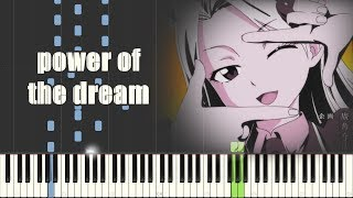 Fairy Tail: Final Series Opening - power of the dream (Piano Synthesia)
