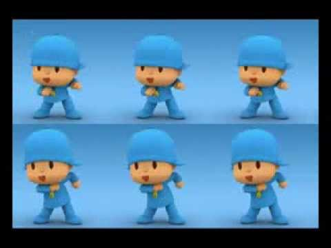 Pocoyo Baila video