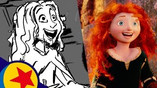Chase the Sky from Brave | Pixar Side by Side