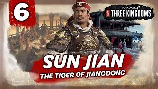 A LEGENDARY STRATEGIST! Total War: Three Kingdoms - Sun Jian - Romance Campaign #6