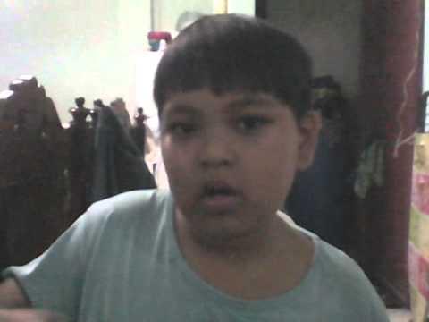 Child name markjustin sings hindi kailangan