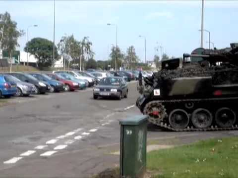Tank Driving Scotland - Driving Test 6