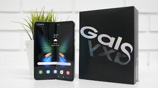 Samsung Galaxy Fold Unboxing amp Overview Indian Unit Foldable Smartphone