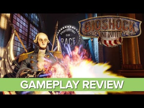 Bioshock Infinite Gameplay Review - Xbox 360 HD Gameplay - No Spoilers