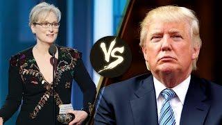 Meryl Streep BLASTS Donald Trump During Golden Globe Speech