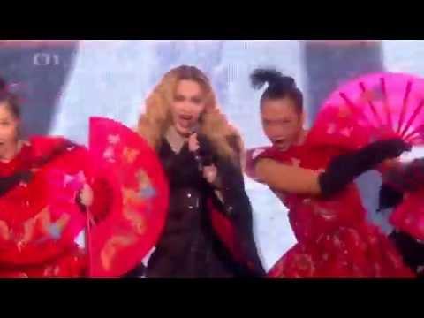 Madonna - Rebel Heart Tour - Prague - 7. 11. 2015 - Czech TV News Report