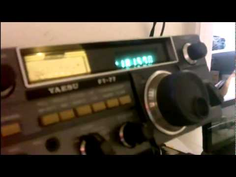 Grease on 17 meters Ham radio