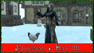 Vlogmas Day 20! The One With The Chicken! (Second Life)