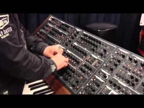 Namm 2013 Schmidt 8 voice poly analog