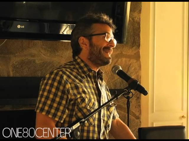 Comedian Marc Maron speaks at Wellness Day 2011 @one80center.com