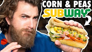 International Subway Taste Test