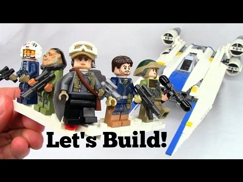 LEGO U-Wing Rogue One: A Star Wars Story 75155 - Let's Build!