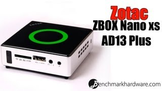 Unboxing y preview Zotac ZBox Nano XS AD13 PLUS