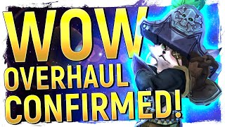 WOW OVERHAUL?! Blizz CONFIRM Level Squish | Vulpera Allied Race Discovery & Dates of Patch 8.2