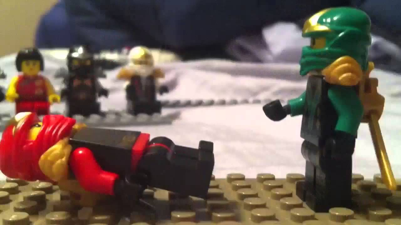 Lego ninjago lloyd vs kai youtube - Ninjago vs ninjago ...