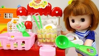Baby doll cooking noodle shop Food & Kitchen toy