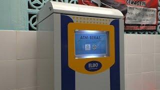 Mesin keluar beras automatik bantu asnaf