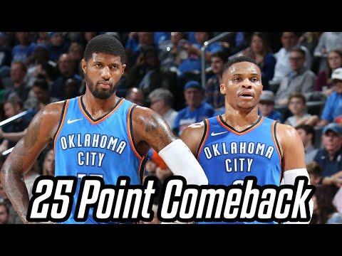NBA Largest Comebacks (2017-2018 Season) #3