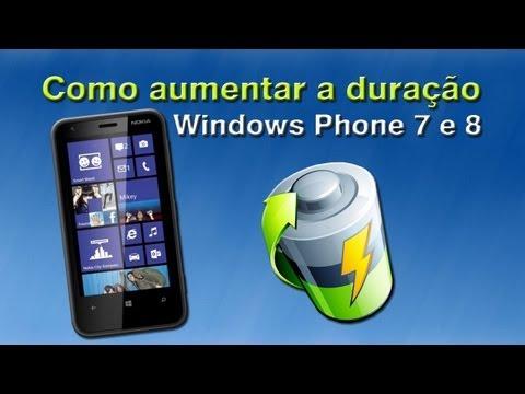 Dicas para a bateria do seu Lumia