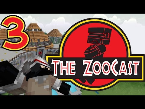Minecraft Jurassic Park #3 All Cleaned Up! [ZooCast]