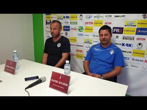 Tisková konference po utkání FK Viktoria Žižkov - FC Hradec Králové