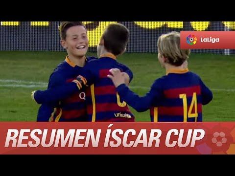 Resumen de Levante UD (0-4) FC Barcelona - Semifinales de la Íscar Cup - LaLiga Promises 2015/2016