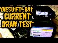 Yaesu FT 891 Current Draw Test 5 100w mp3