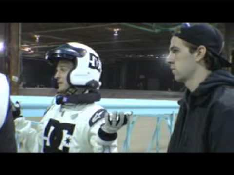 Vaughn Gittin Jr. and Rob Dyrdek: A skateboard car