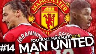 Manchester United Career Mode #14 - Football Manager 2016 Let's Play - Man City Game + Youth Intake!