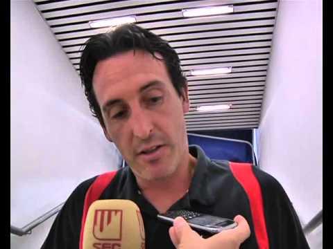 Declaraciones Unai Emery, Trofeo Carranza. 03/08/13. Sevilla FC
