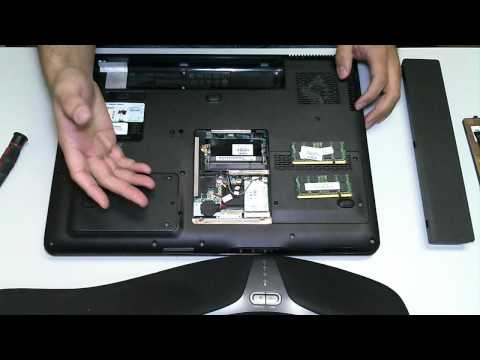 HP DV9000 RAM Removal Upgrade