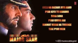 Major Saab Movie Full Songs   Amitabh Bachchan, Ajay Devgn, Sonali Bendre   Jukebox
