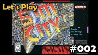 Let's Play SimCity (SNES) #02 - Zone Stacking and Grids vs. Doughnut Blocks