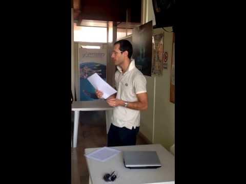 Nuoto ed alimentazione , incontro con il Biologo Nutrizionista Diego Falzetta
