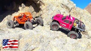 """PiNKY & TANGO"" Part 2 - We Crawl to the Summit! La Quinta Cove | RC ADVENTURES"