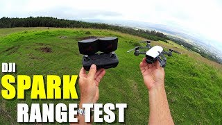 DJI SPARK Review - Part 3 - [4 Mile In-Depth Range Test with RC Controller & OTG Cable]