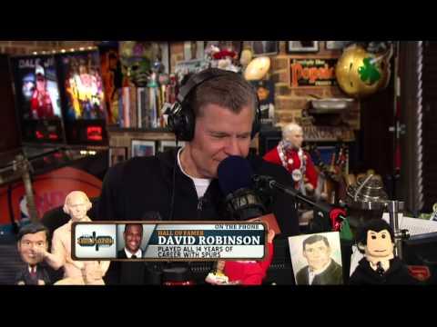 David Robinson on the Dan Patrick Show (Full Interview) 6/18/14