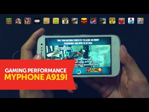 MyPhone A919i / Micromax A116 Canvas HD Gaming Performance Test